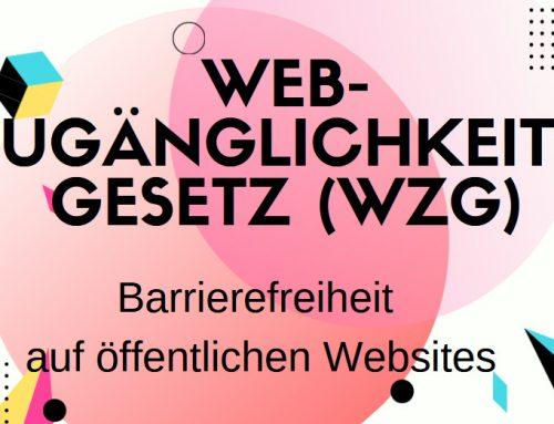 Barrierefreiheit auf öffentlichen Websites