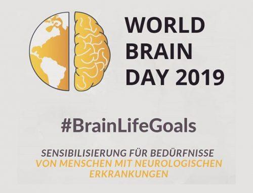 22. Juli: Welttag des Gehirns #BrainLifeGoals