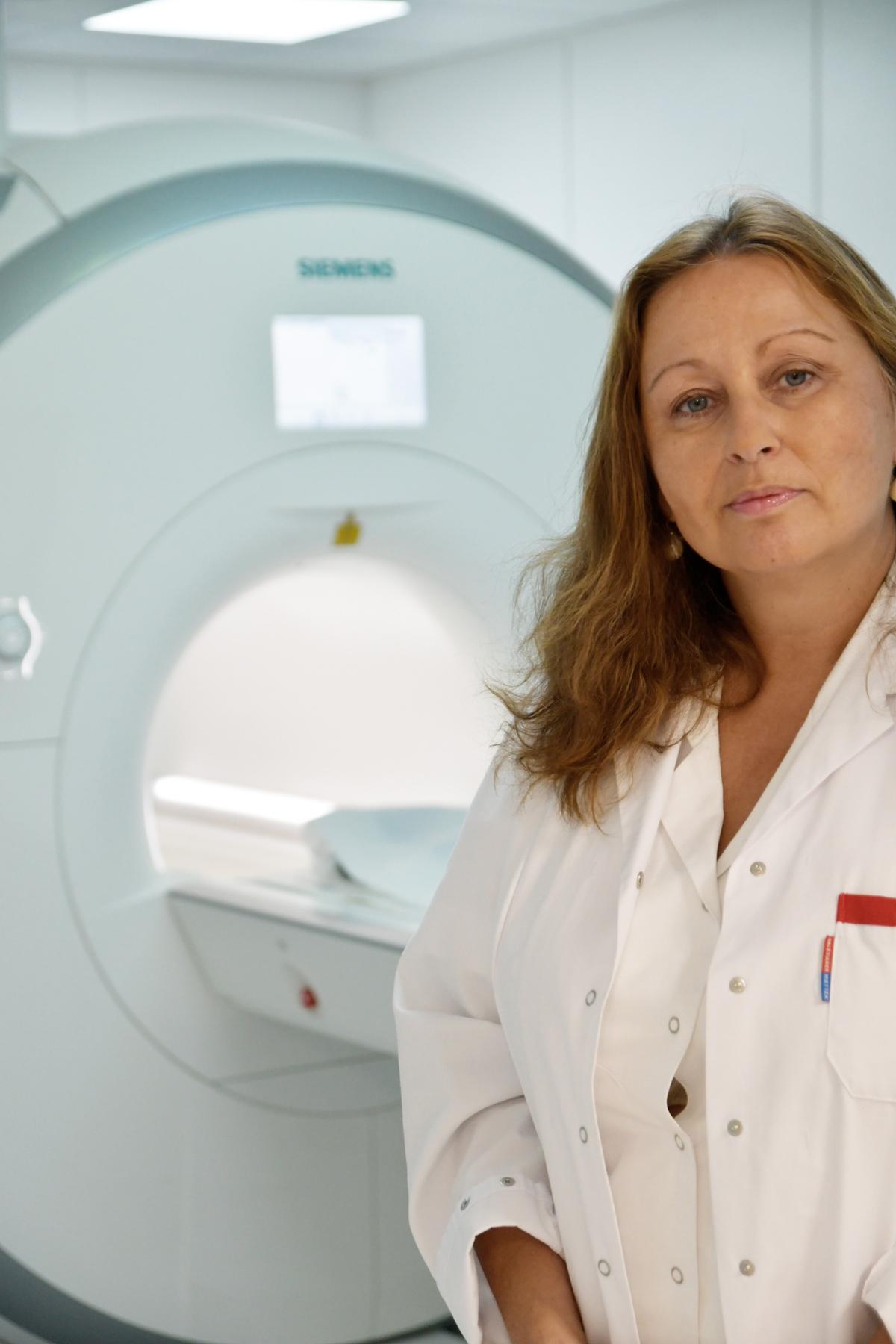 Prim. Dr. Claudia Linemayr-Wagner, ärztliche Leiterin des WGKK-Gesundheitszentrums Wien-Süd. Foto: WGKK