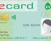 ecard mit Foto, Credit: er Haidingergasse 1, 1030 Wien (ab 1.1.2020: Dachverband der Sozialversicherungsträger