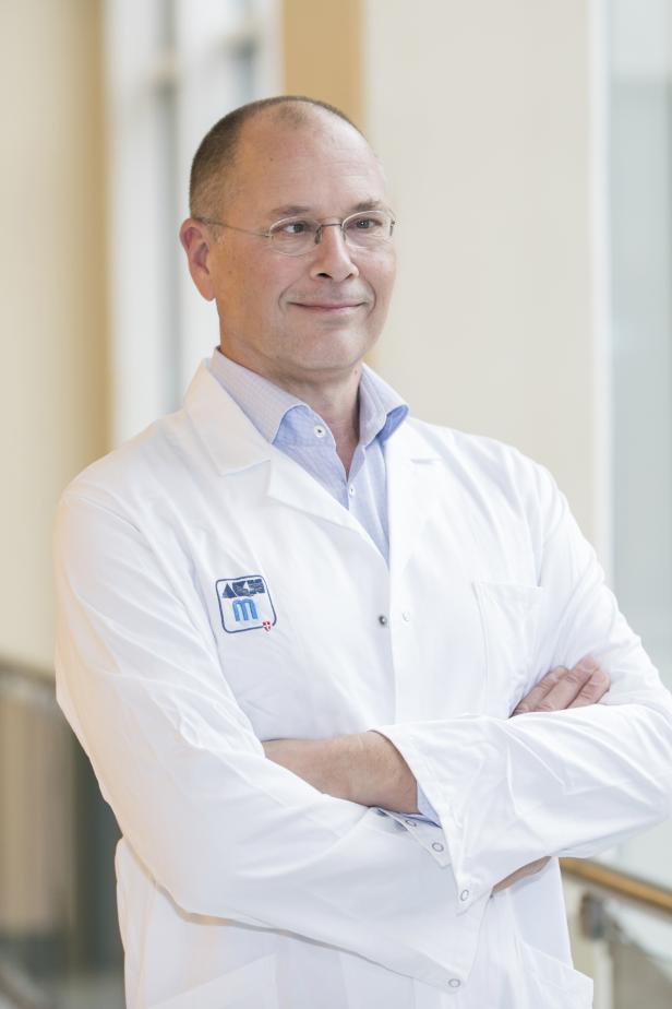 Univ.-Prof. Dr. Thomas Berger, Vorstands-Vorsitzender der Multiple Sklerose Forschungsgesellschaft © Bild: MedUni Wien
