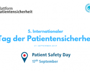 5. Internationaler Tag der Patientensicherheit (2)