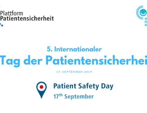 5. Internationaler Tag der Patientensicherheit
