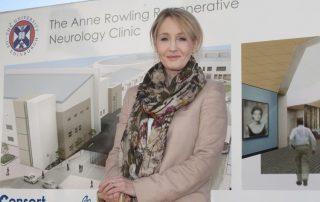 J.K. Rowling spendete 17,2 Millionen Euro für die Erfoschung neurologischer Erkrankungen, allen voran Multipler Sklerose. Copyright: University of Edinburgh