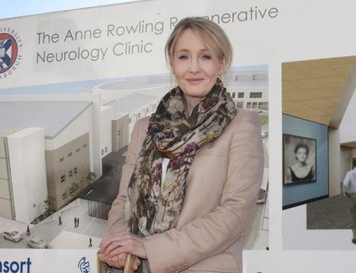 J.K. Rowling spendet für MS-Forschung