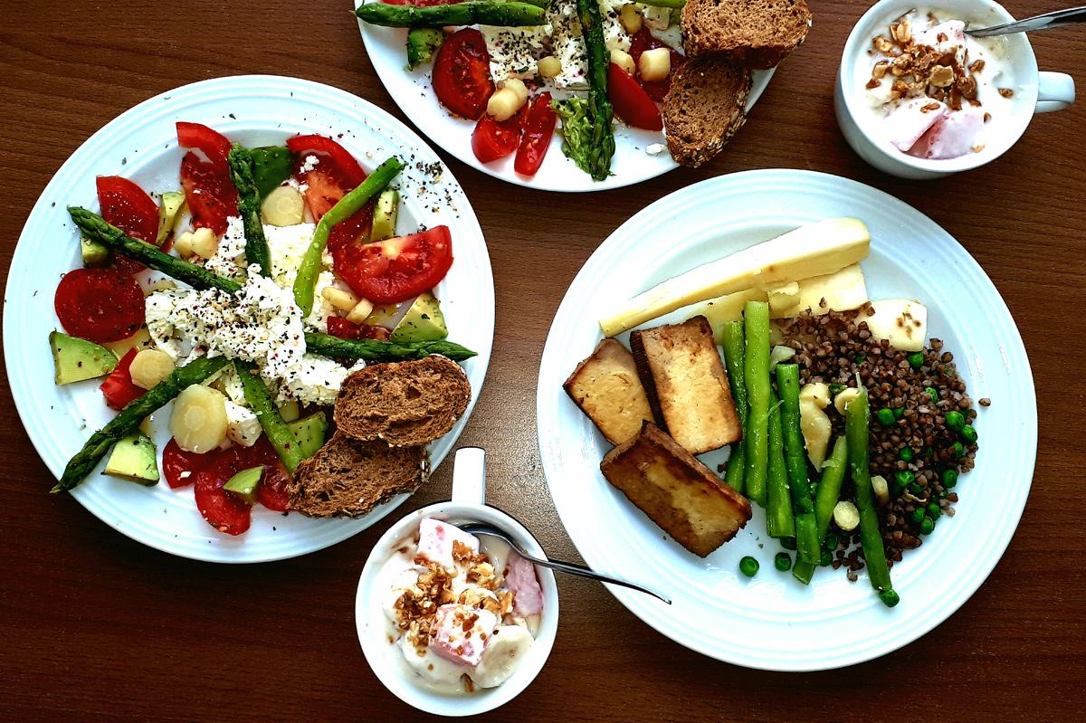 gesundes Mittagessen, Foto: Mag. (FH) Gabriele Gruber, MS-Gesellschaft Wien