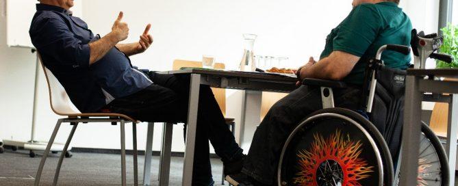 ÖBR-Präsident Herbert Pichler diskutierte mit Werner Kogler (Die Grünen) dessen Positionen für die Nationalratswahl 2019. Copyright: ÖBR
