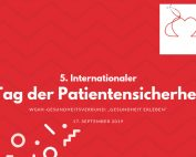 Am 17. September, dem 5. Internationalen Tag der Patientensicherheit, wird in Wien ein vielfältiges Mitmach-Programm geboten.