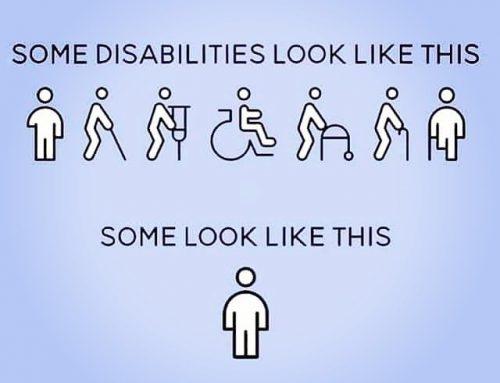 Woche der unsichtbaren Behinderungen