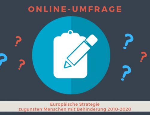 Europäische Strategie zugunsten von Menschen mit Behinderungen
