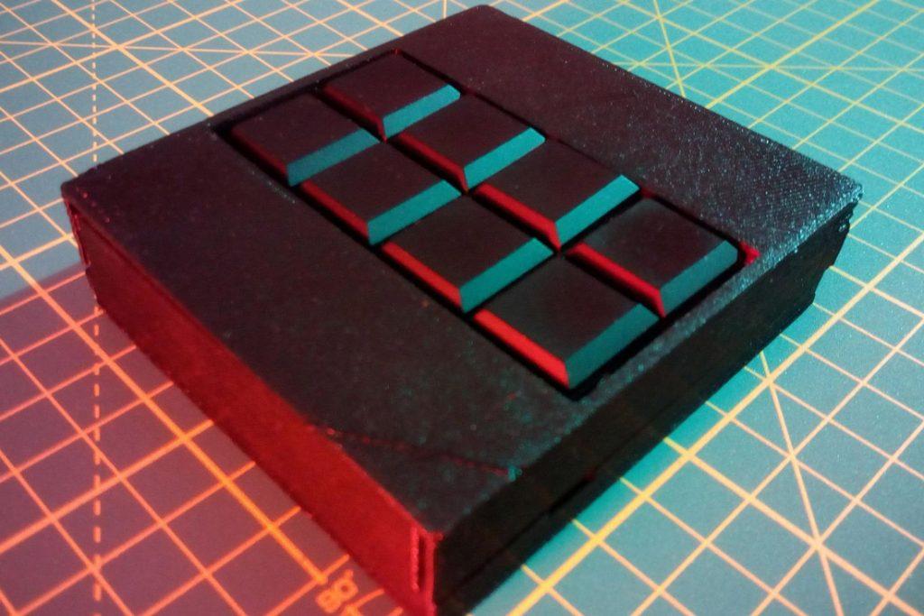 Tastatur für Blinde © TU Wien)