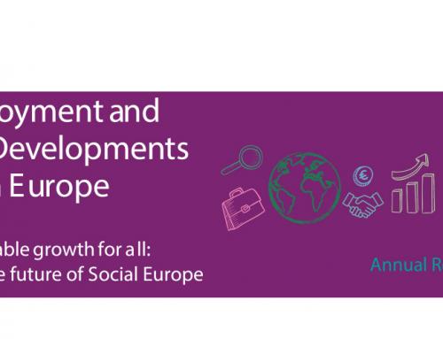 Bericht der Europäischen Kommission zur Beschäftigung und sozialen Entwicklung in Europa 2019