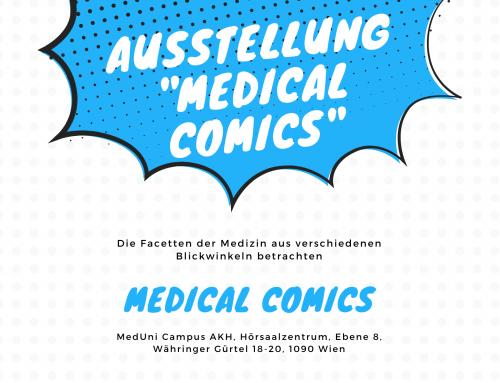 Ausstellung: Medical Comics