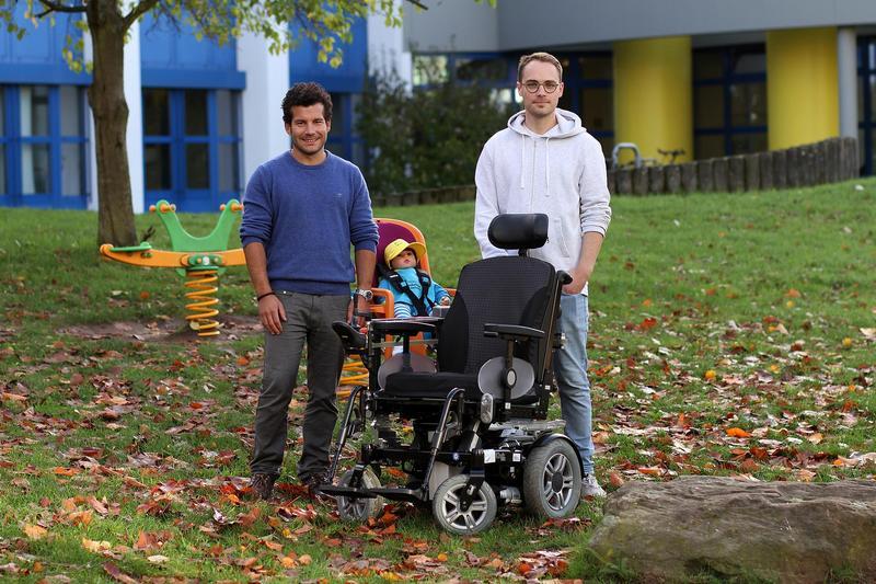 Michael Weber (li.) und Johannes Imhoff werden die Technik auf der Medica vorstellen. Foto: Koziel/TUK