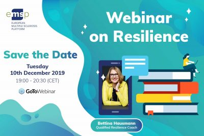 EMSP Webinar zu Resilienz mit Bettina Hausmann | 10. Dezember 19: 00-20: 30 Uhr (MEZ)