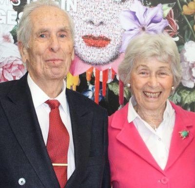 Seit 66 Jahren glücklich verheiratet: Robert und Doris Granger