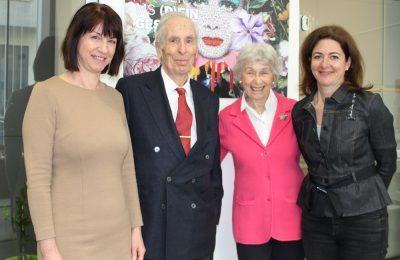 Karin Krainz, Robert Granger, Doris Granger, Univ.-Prof. Dr. Barbara Kornek