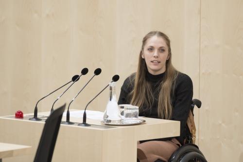 Kira Grünberg © Parlamentsdirektion / Thomas Jantzen