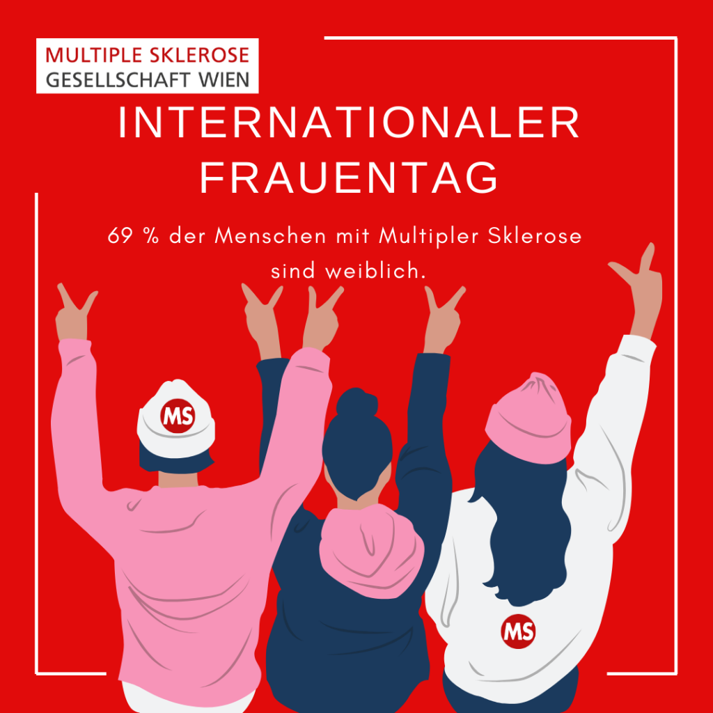Internationaler Frauentag: 69 % der Menschen mit Multiple Sklerose sind weiblich.