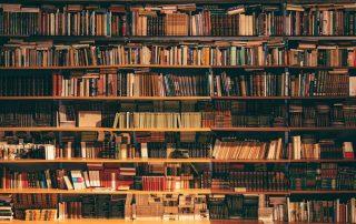 Bibliothek, volle Bücherregale, Credit: Photo by Alfons Morales on Unsplash