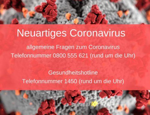Neuartiges Coronavirus