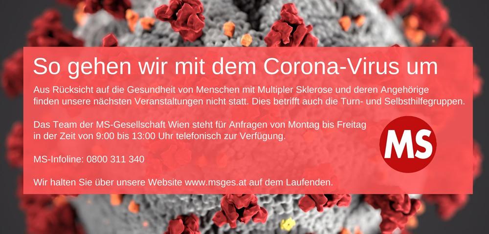 So gehen wir mit dem Corona-Virus um