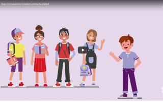 Corona für Kinder leicht erklärt: Neues Video der Stadt Wien