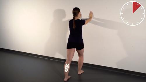 Beweglichkeits-Übung: Dorsalextension