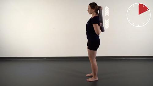 Beweglichkeits-Übung: Schulter-Innenrotation