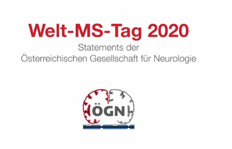 Statements der Österreichischen Gesellschaft für Neurologie zum Welt-MS-Tag, Screenshot Website ÖGN
