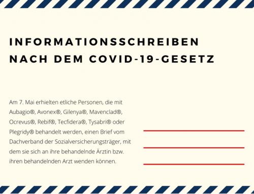 Informationsschreiben nach dem COVID-19-Gesetz