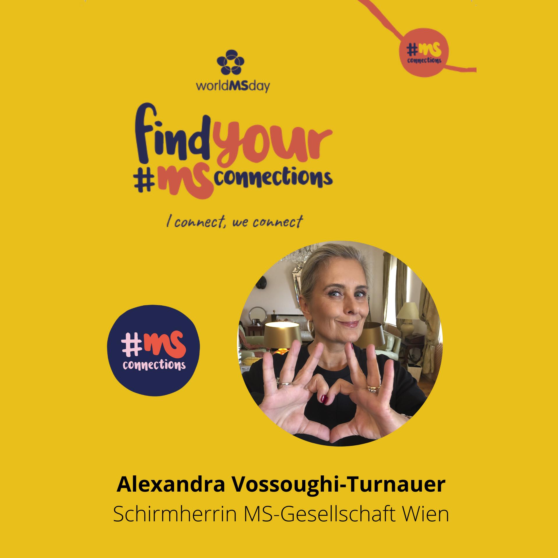 Statement von Alexandra Vossoughi-Turnauer, Schirmherrin MS-Gesellschaft Wien, zum Welt-MS-Tag 2020
