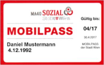 Mobilpass der Stadt Wien