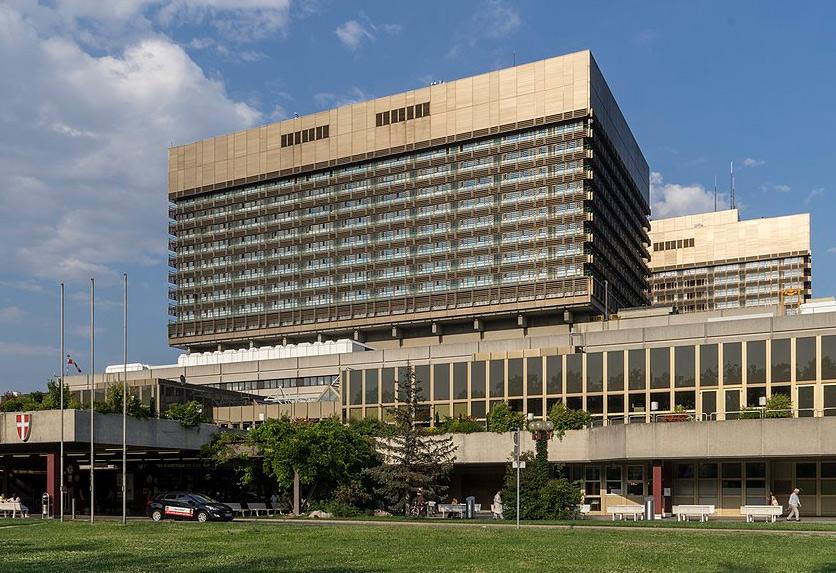 Universitätsklinikum AKH Wien, Foto: Wikimedia Commons