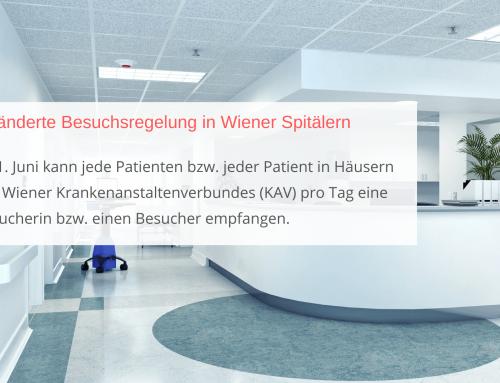 Neue Besuchsregelung in Wiener Spitälern