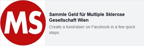 Sammle Geld für die MS-Gesellschaft Wien!