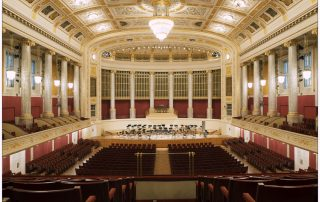 Großer Saal im Wiener Konzerthaus, Foto: © www.lukasbeck.com