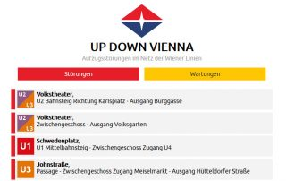 Screenshot www.updownvienna.com