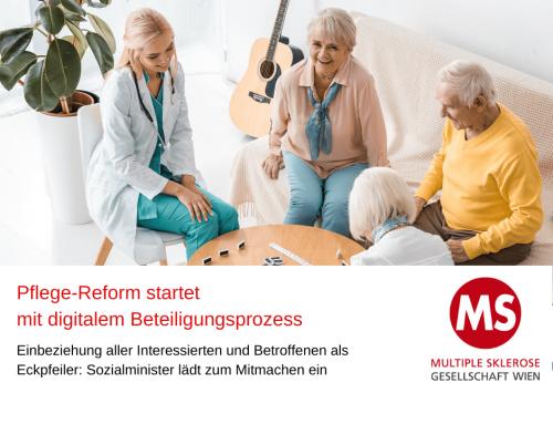 Pflegereform: Online Beteiligungsprozess