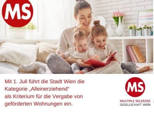 Wiener Wohnbonus für Alleinerziehende