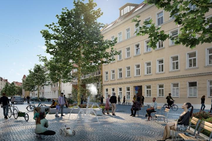 """Die Goldschlagstraße in Penzing wird zur """"Coolen Straßen Plus"""" umgestaltet. Foto: ZOOMVP.AT"""
