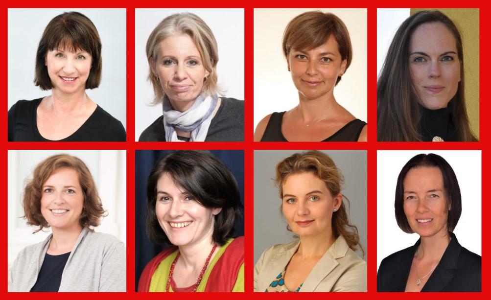 Team MS-Gesellschaft Wien: Karin Krainz, Katharina Schlechter, MAS, Sandra Skrebic, Mag. Gabriele Gruber, Mag. Julia Asimakis, Mag. Karin Wunderlich, Mag. Kerstin Huber-Eibl, Mag. Tamara Mandl