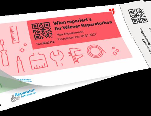 """Wien repariert's – Der Wiener Reparaturbon"