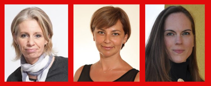 Bildercollage. v.l.n.r.: Katharina Schlechter, Sandra Skrebic, Gabriele Gruber