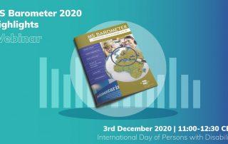 Ein Webinar der European Multiple Sclerosis Platform widmet sich am Internationalen Tag der Menschen mit Behinderungen der neuesten Ausgabe des Multiple Sklerose Barometers.