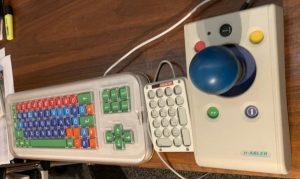 n-Abler Joystick und CLEVY Tastatur