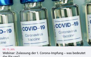 Webinar Covid-19-Impfung und Multiple Sklerose