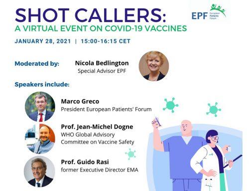 Online-Diskussion über COVID-19-Impfstoffe