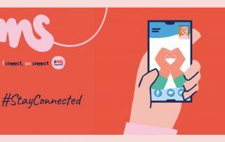 Rund um den Welt-MS-Tag am 30. Mai 2021 lenken die MS-Gesellschaften weltweit die Aufmerksamkeit auf die Situation von Menschen mit Multipler Sklerose. In der vom Corona-Virus geprägten Zeit steht der heurige Welt-MS-Tag unter dem Motto #StayConnected. Wir bleiben in Verbindung!