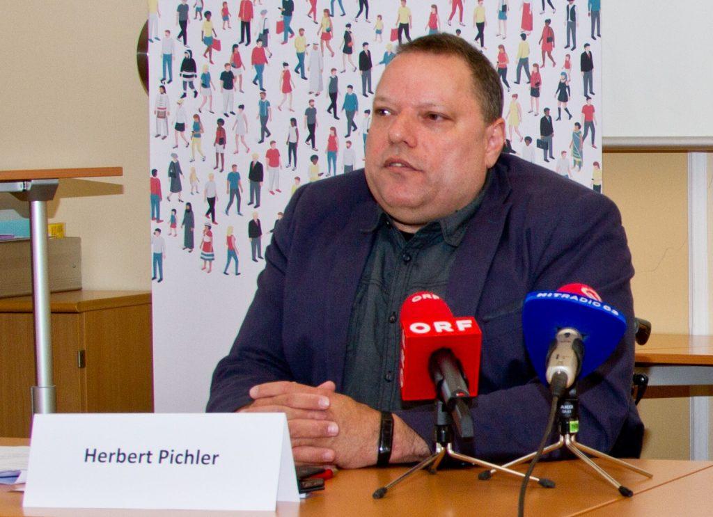 Behindertenrats-Präsident Herbert Pichler, Foto: Behindertenrat/Michael Janousek